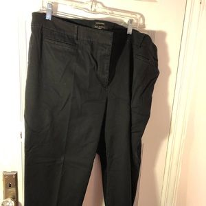 Talbots perfect crop chino
